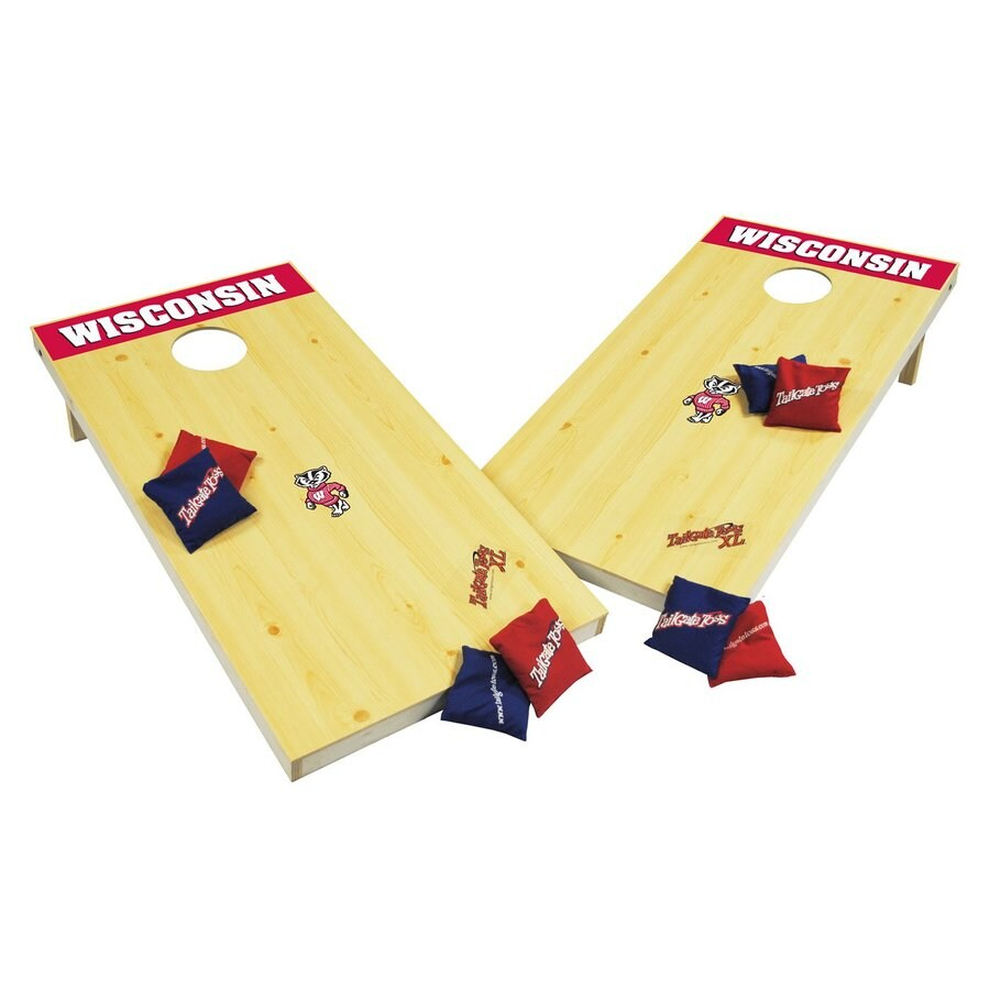 Wild Sports Wisconsin Badgers Outdoor Corn Hole Party Game
