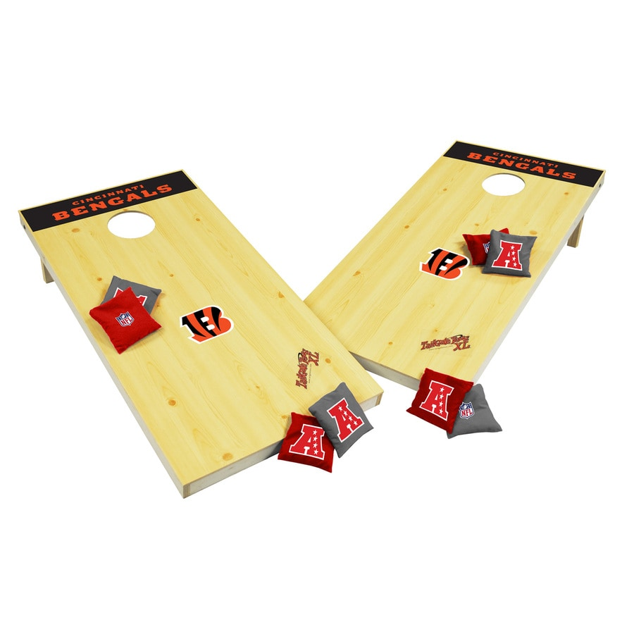 Wild Sports Cincinnati Bengals Outdoor Corn Hole Party Game