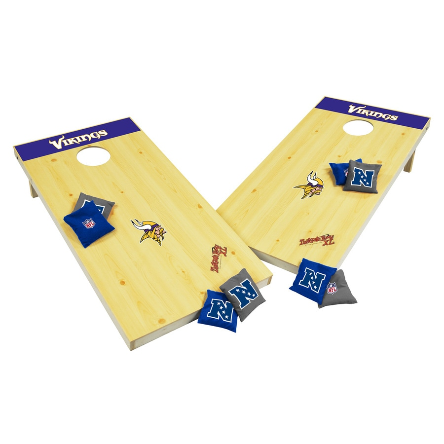 Wild Sports Minnesota Vikings Outdoor Corn Hole Party Game