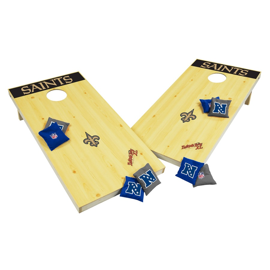 Wild Sports New Orleans Saints Outdoor Corn Hole Party Game