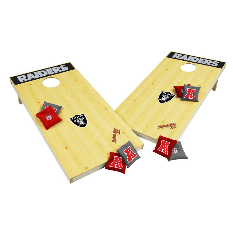 Wild Sports Oakland Raiders Outdoor Corn Hole Party Game