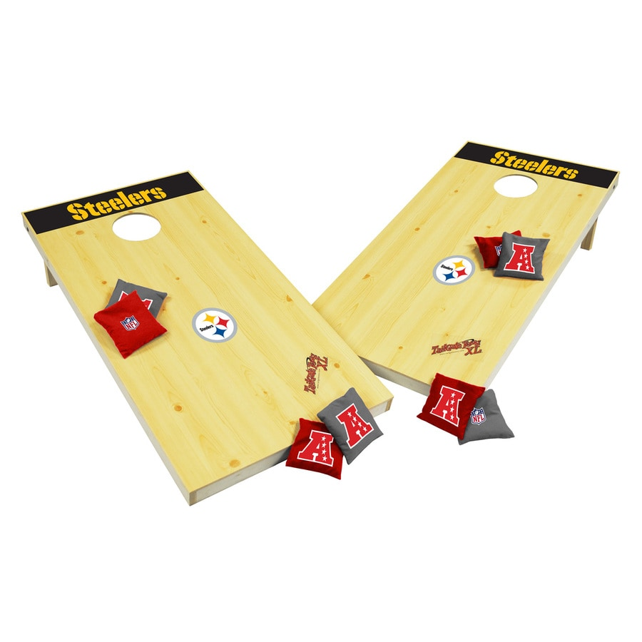 Wild Sports Pittsburgh Steelers Outdoor Corn Hole Party Game