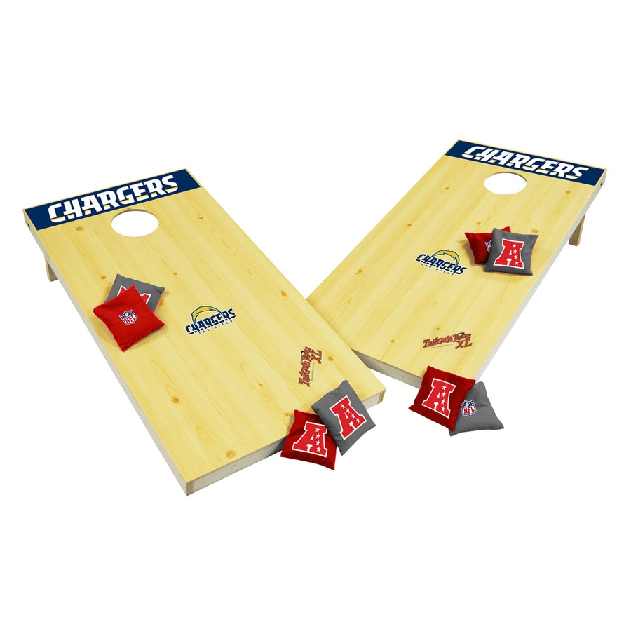 Wild Sports San Diego Chargers Outdoor Corn Hole Party Game