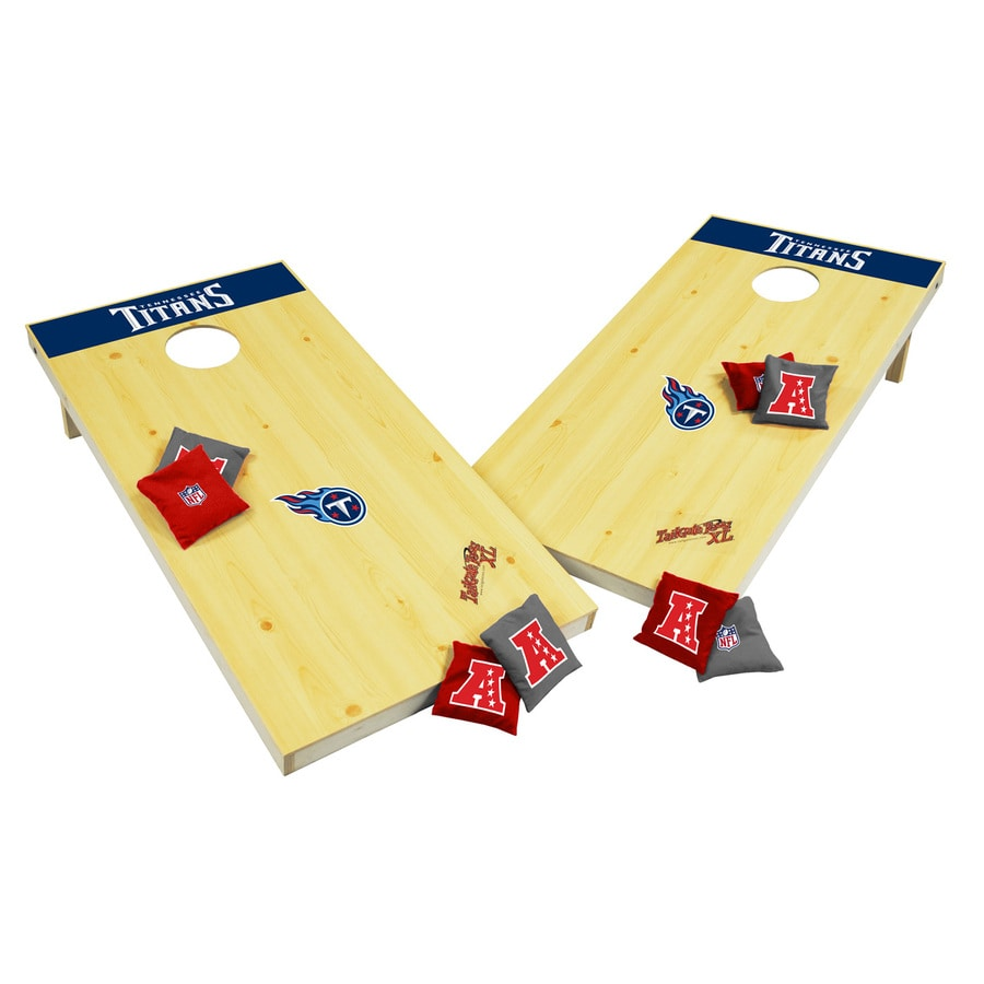 Wild Sports Tennessee Titans Outdoor Corn Hole Party Game