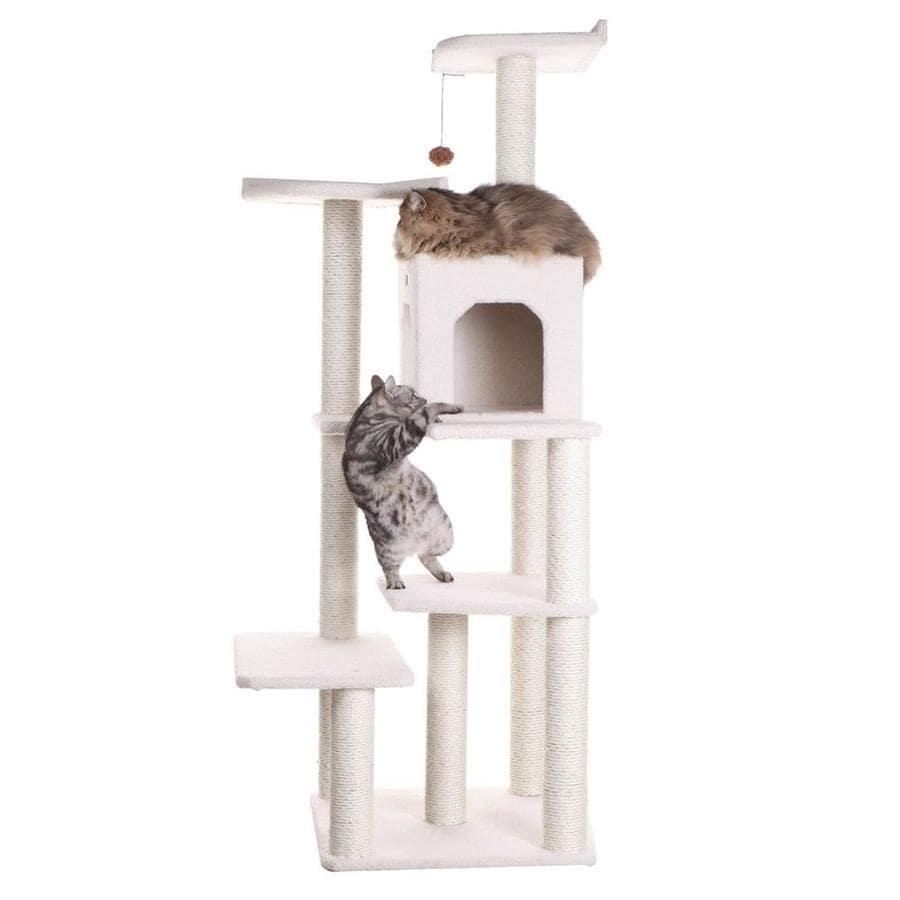 Armarkat 68-in Fleece 7-Level Cat Tree