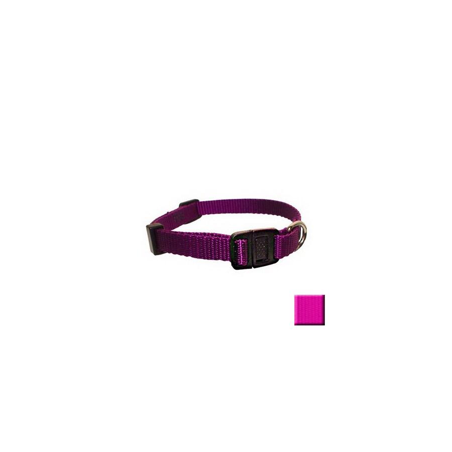 Majestic Pets Pink Nylon Breakaway Collar