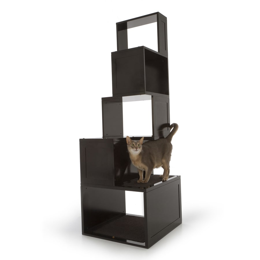 Designer Pet Products Sebastian 67-in Brown Carpet Cat Tree