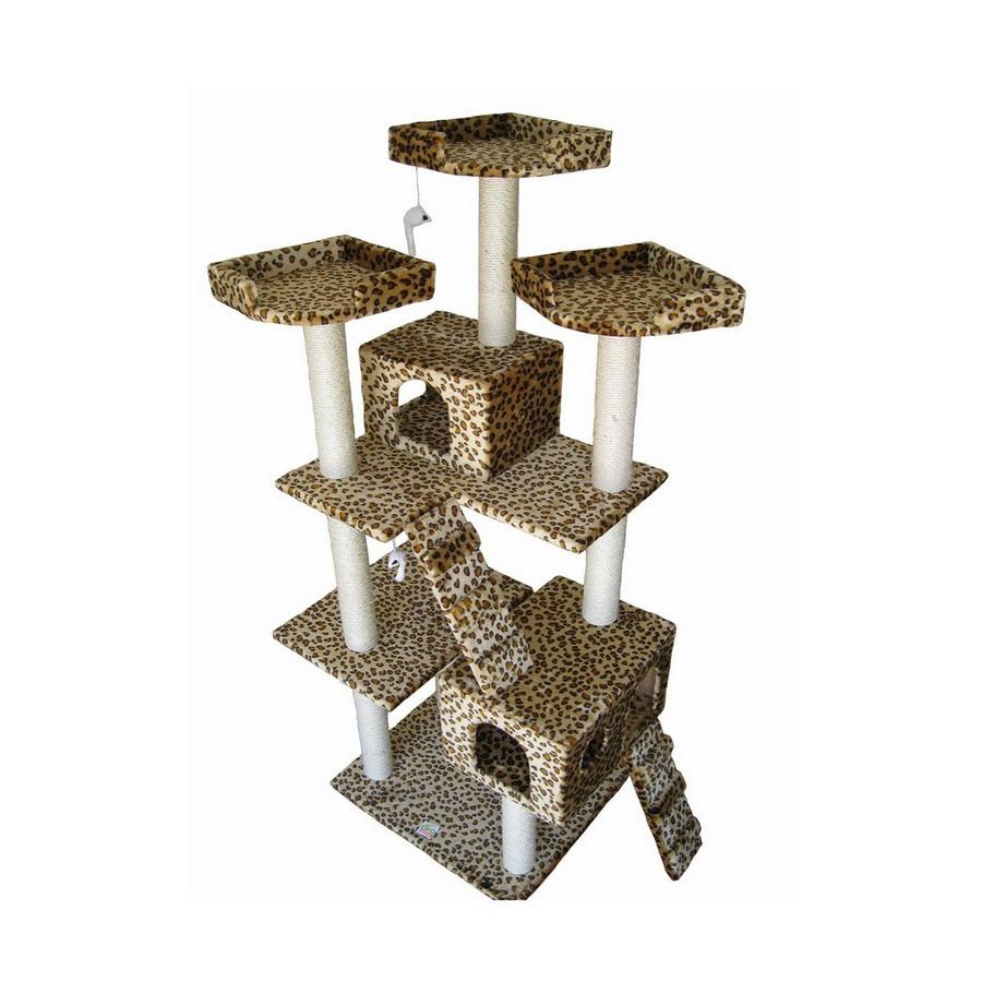 Go Pet Club 72-in Faux Fur 15-Level Cat Tree