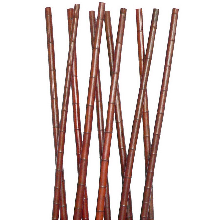 Laura Ashley by Vintage Home 6-ft 6-in Chocolate Bamboo