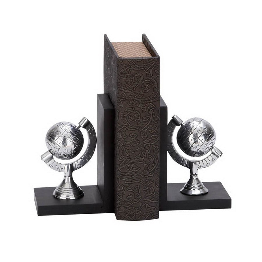 Woodland Imports Aluminum Bookend