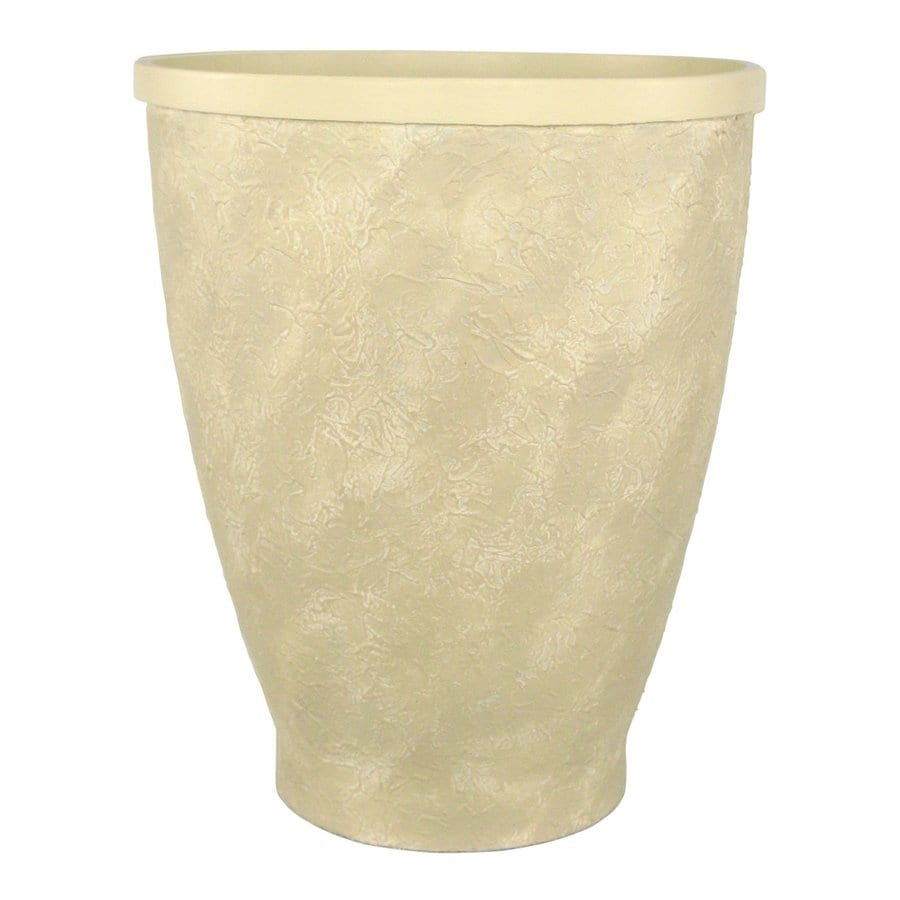 PoliVaz 14.5-in x 18-in Resin Venetian Planter
