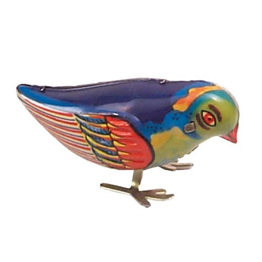 Alexander Taron Tin Wind-Up Blue Bird