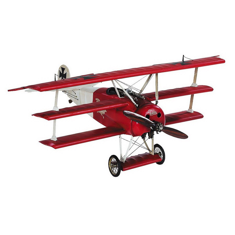Authentic Models Wood, Metal and Fabric Triplane