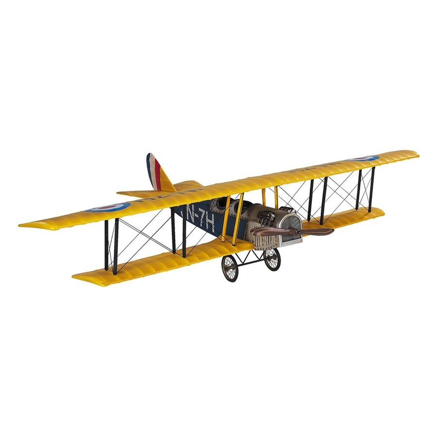 Authentic Models Wood, Metal and Fabric Jenny JN-7H Classic Barnstormer Replica