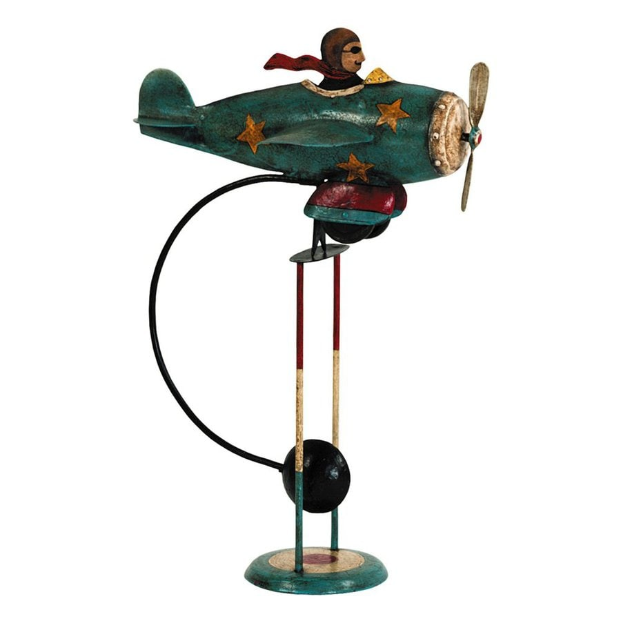 Authentic Models Tin and Iron Flying Ace Balance Toy