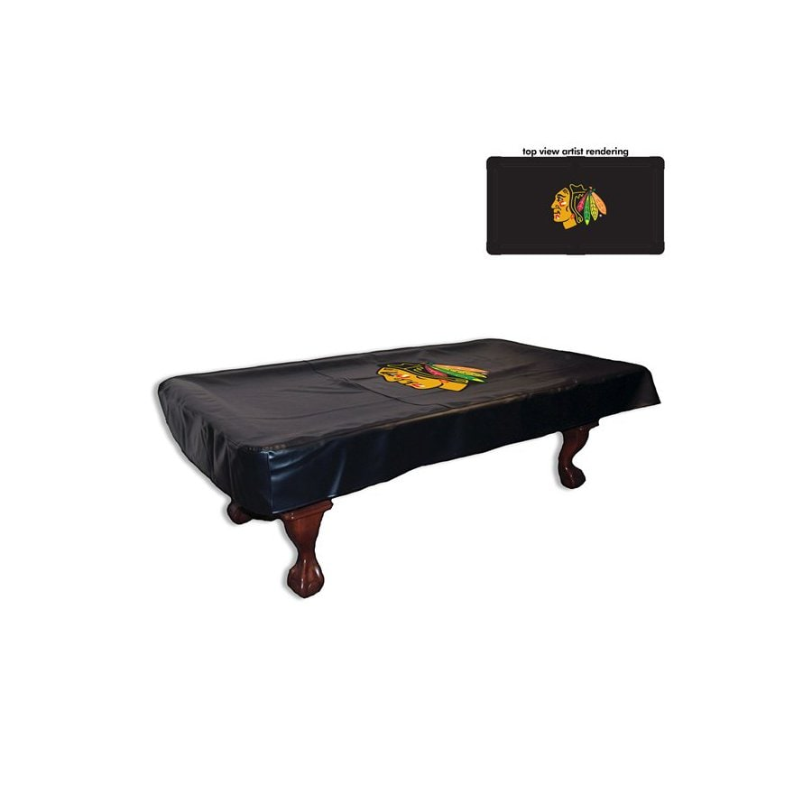 Holland 7-ft Chicago Blackhawks Billiard Table Cover