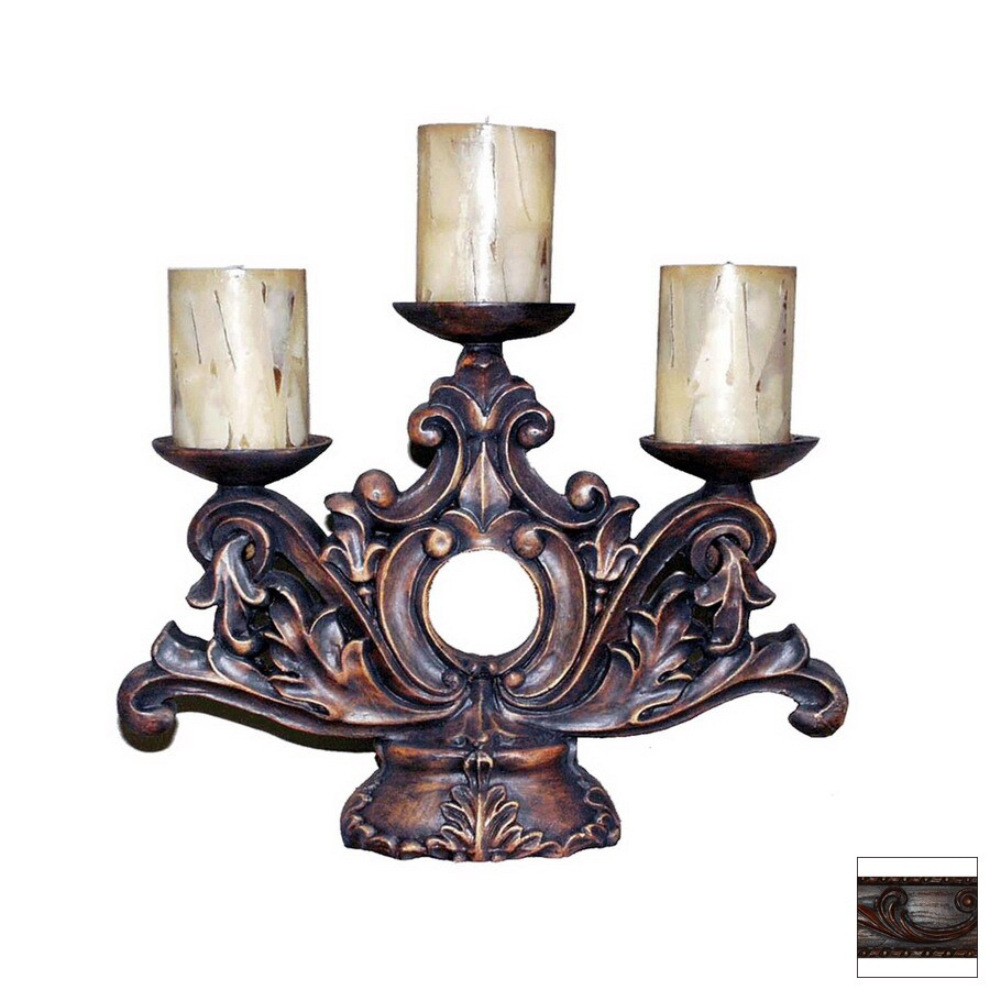 Hickory Manor House Resin Candle Holder
