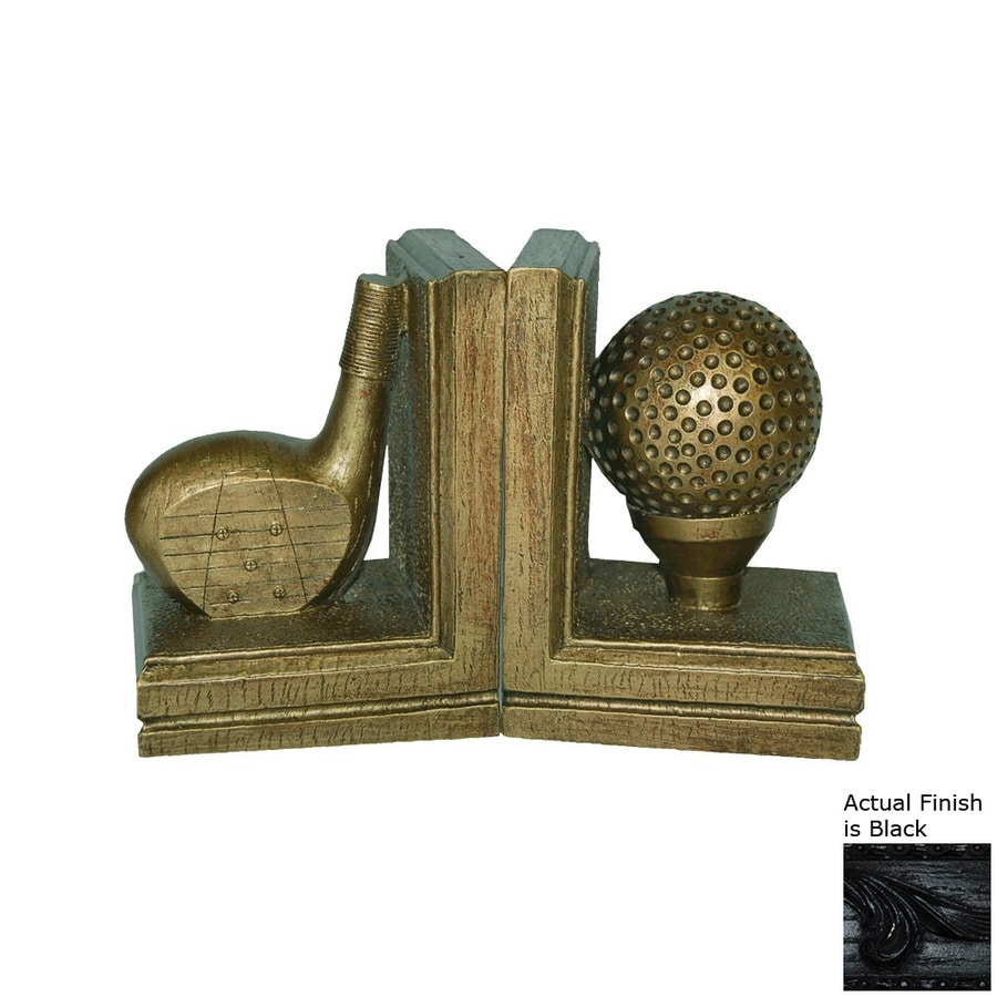 Hickory Manor House Set of 2 Resin Golf Bookends