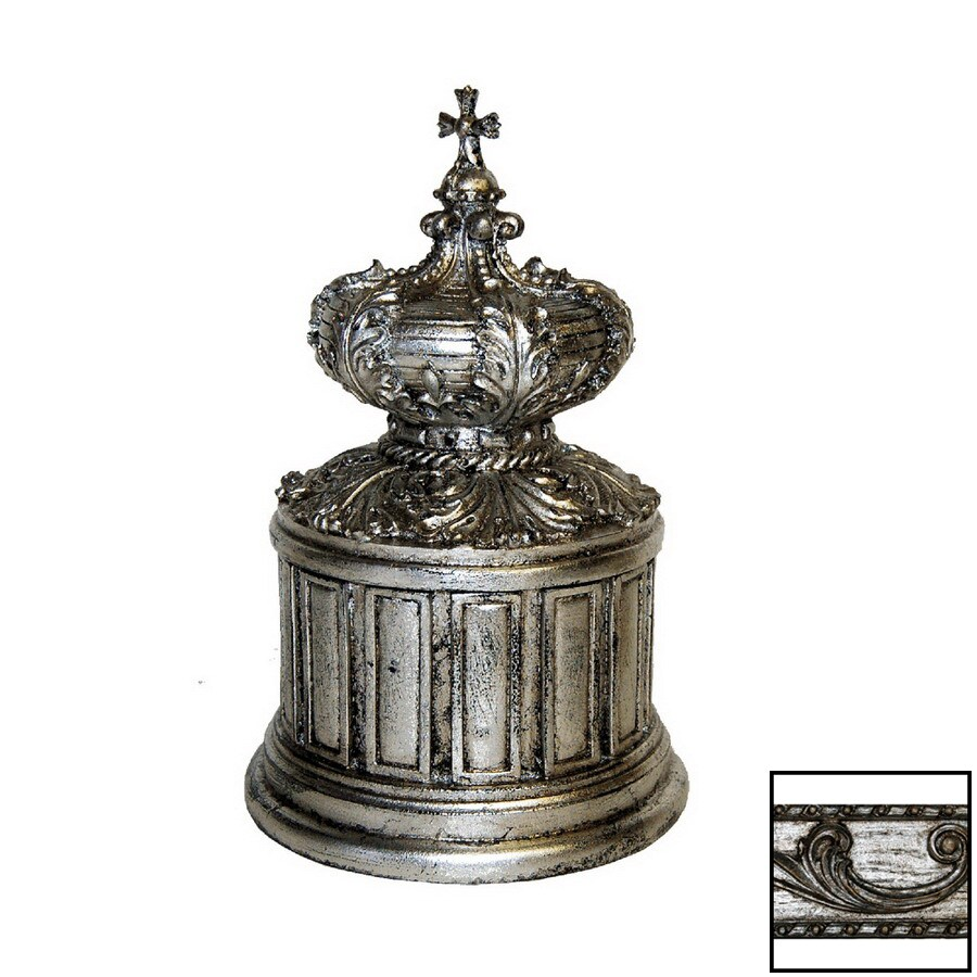 Hickory Manor House Shimmer Round Crown Decorative Box