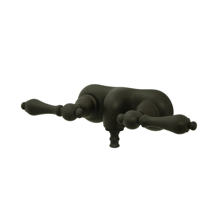 Elements of Design Hot Springs Oil-Rubbed Bronze 2-Handle Fixed Wall Mount Bathtub Faucet
