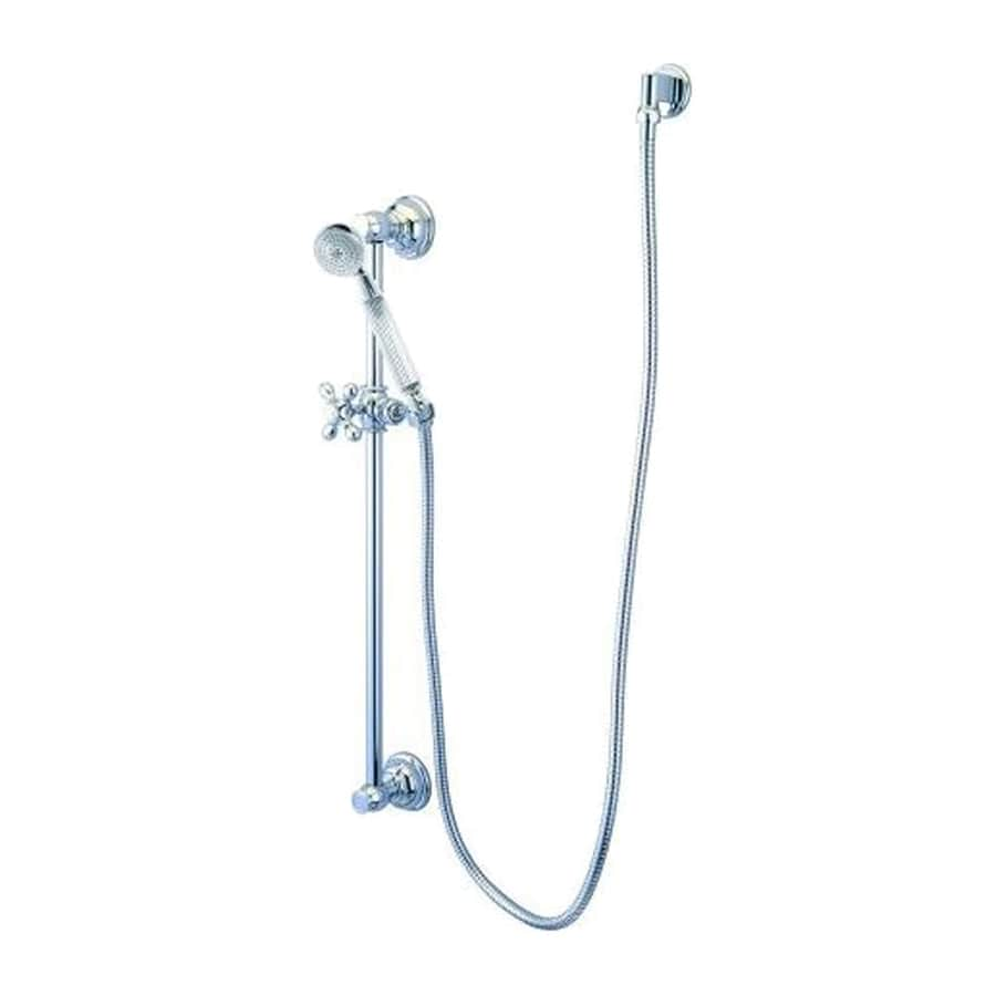Elements of Design Restoration 2.125-in 2.2-GPM (8.3-LPM) Polished Chrome 1-Spray Hand Shower