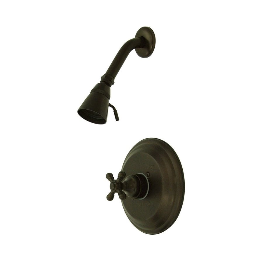 Elements of Design New York 2.25-in 2.5-GPM (9.5-LPM) Oil-Rubbed Bronze Showerhead