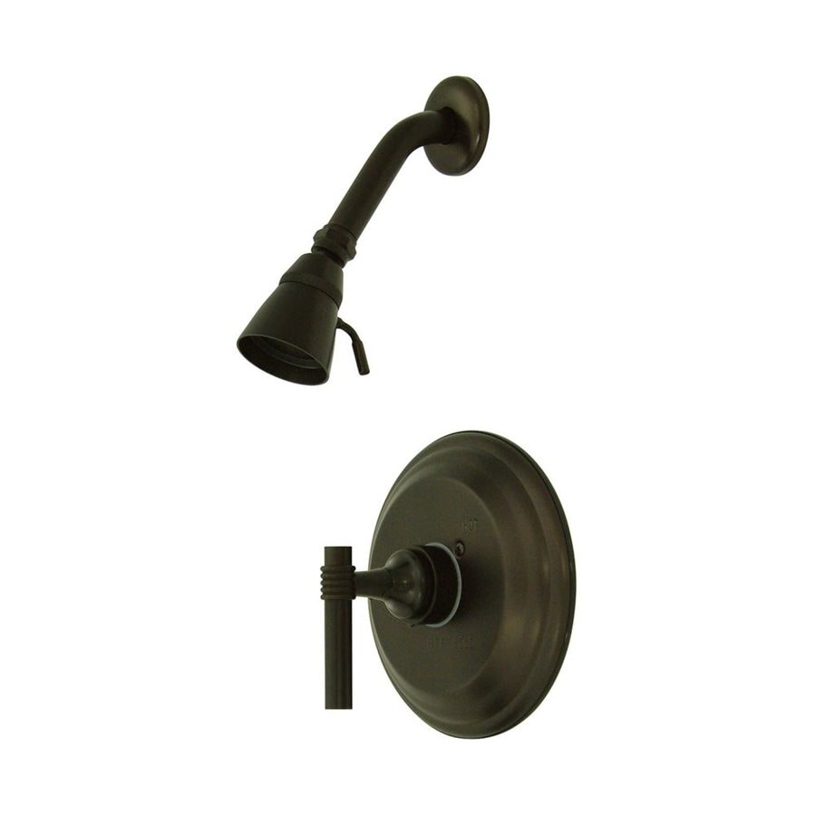 Elements of Design Milano Oil-Rubbed Bronze 1-Handle Shower Faucet with Valve