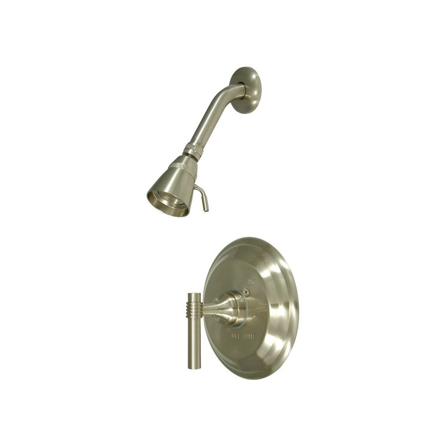 Elements of Design Milano Satin Nickel 1-handle Shower Faucet with Valve