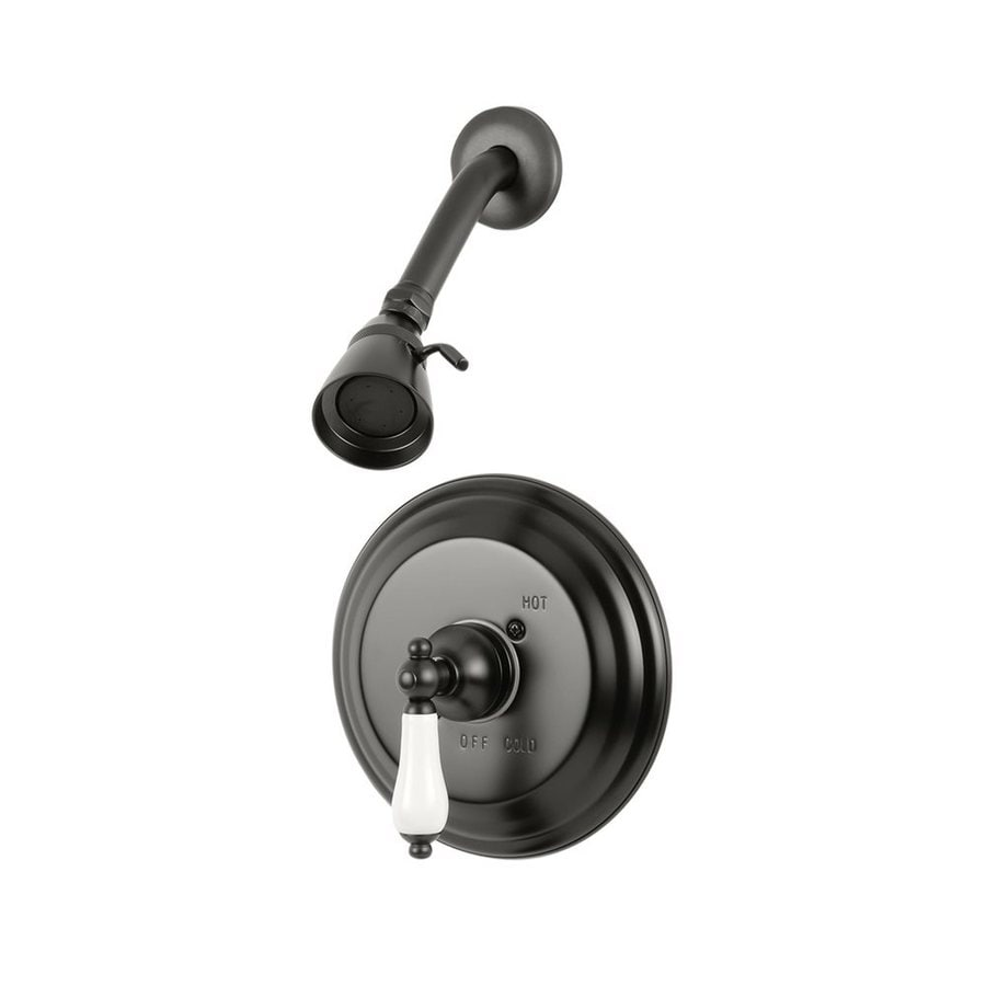 Elements of Design St. Louis Oil-Rubbed Bronze 1-handle Shower Faucet with Valve