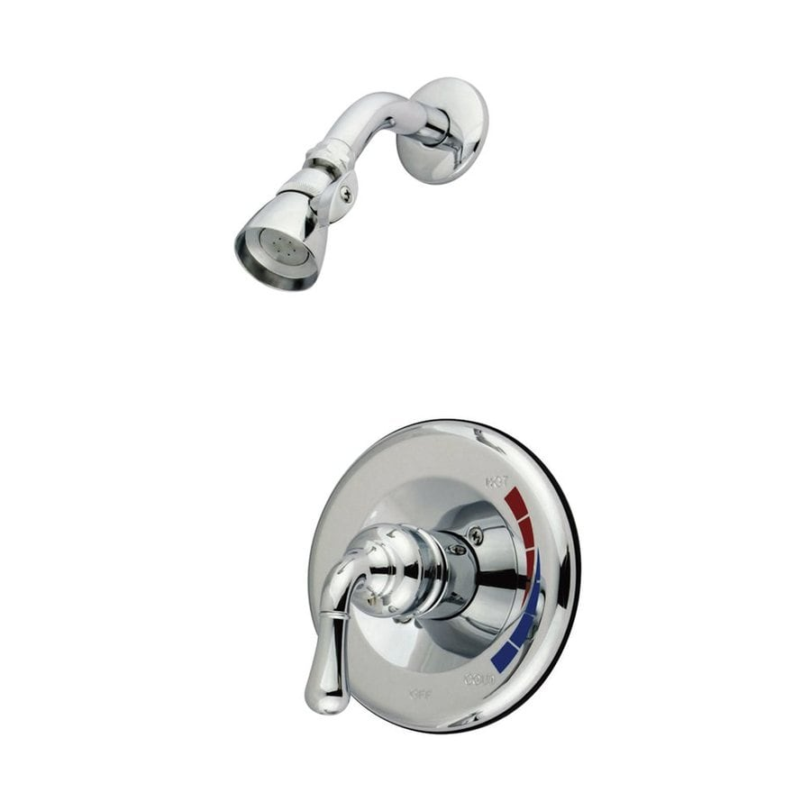 Elements of Design St. Charles Chrome 1-handle Shower Faucet with Valve