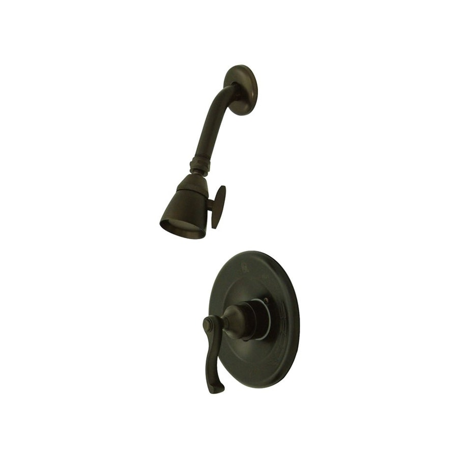 Elements of Design Royale 2.25-in 2.5-GPM (9.5-LPM) Oil-Rubbed Bronze Showerhead