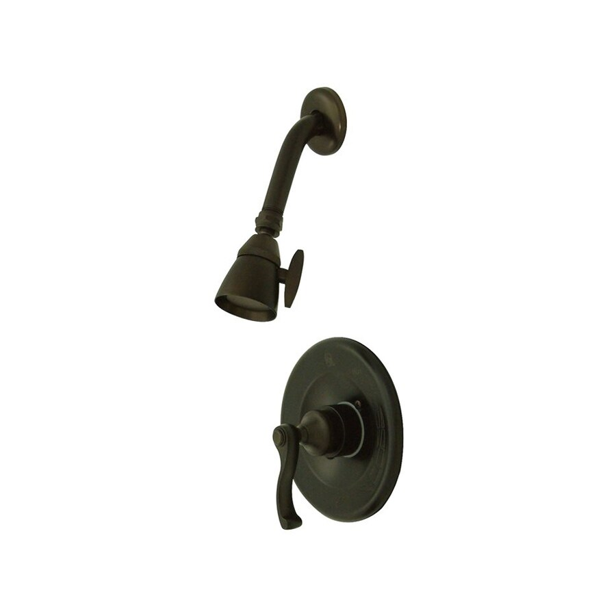 Elements of Design Royale Oil-Rubbed Bronze 1-handle Shower Faucet with Valve