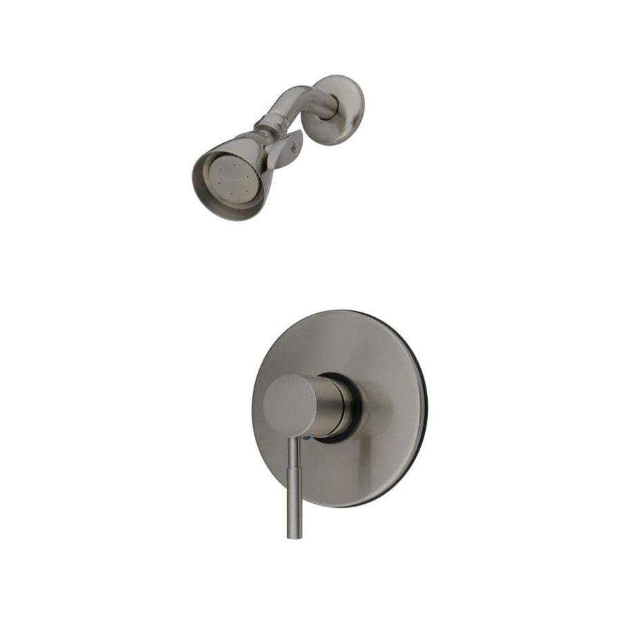 Elements of Design Concord 2.25-in 2.5-GPM (9.5-LPM) Satin Nickel Showerhead