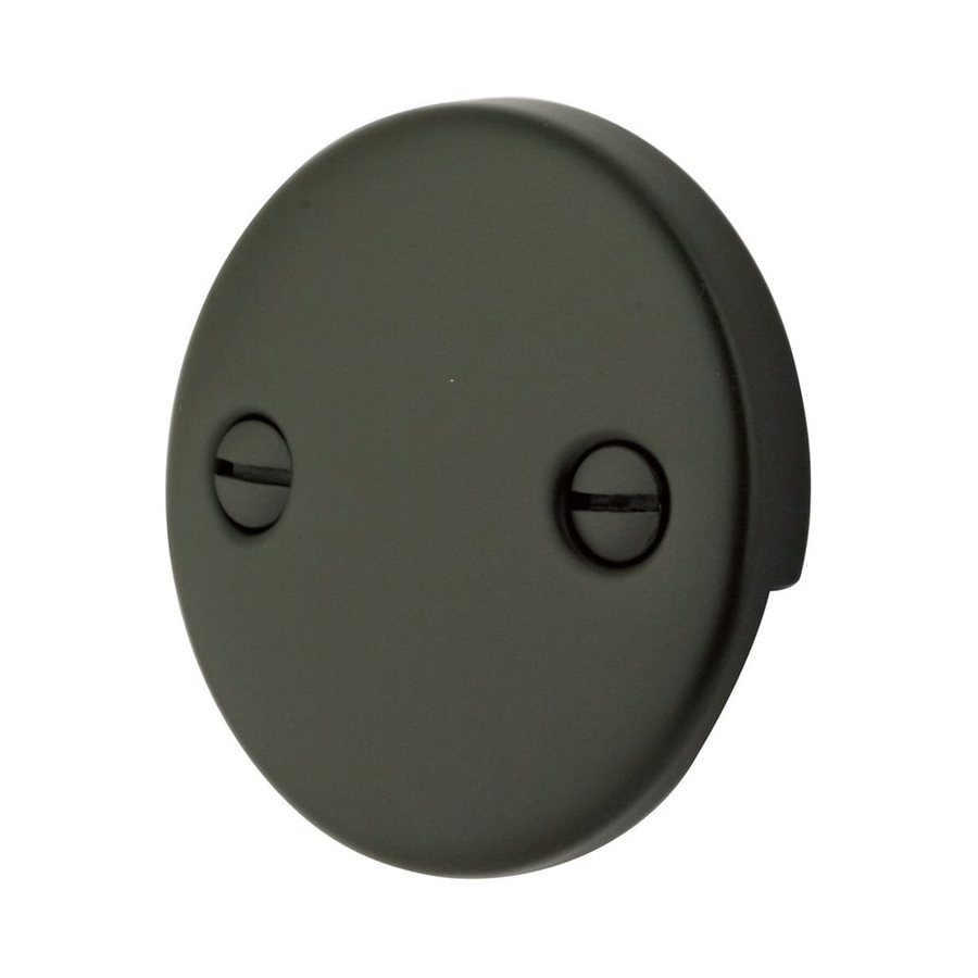 Elements of Design 1/4-in Oil-Rubbed Bronze Metal Face Plate