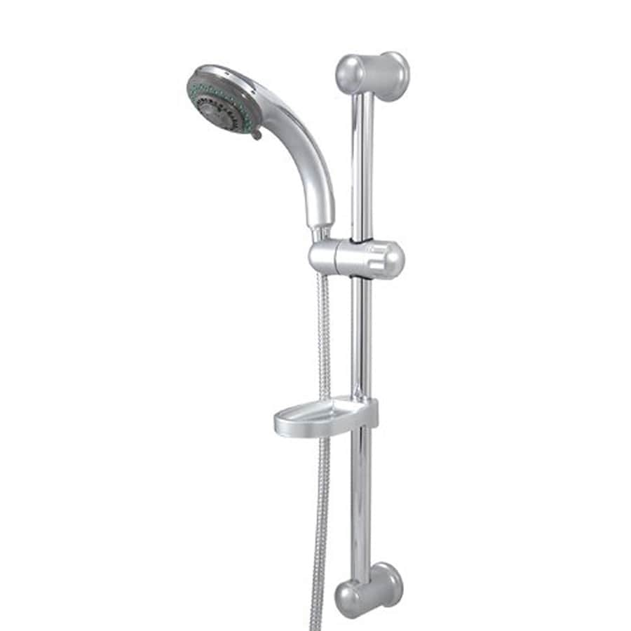 Elements of Design Vilbosch 3.562-in 2.2-GPM (8.3-LPM) Satin Nickel 5-Spray Hand Shower