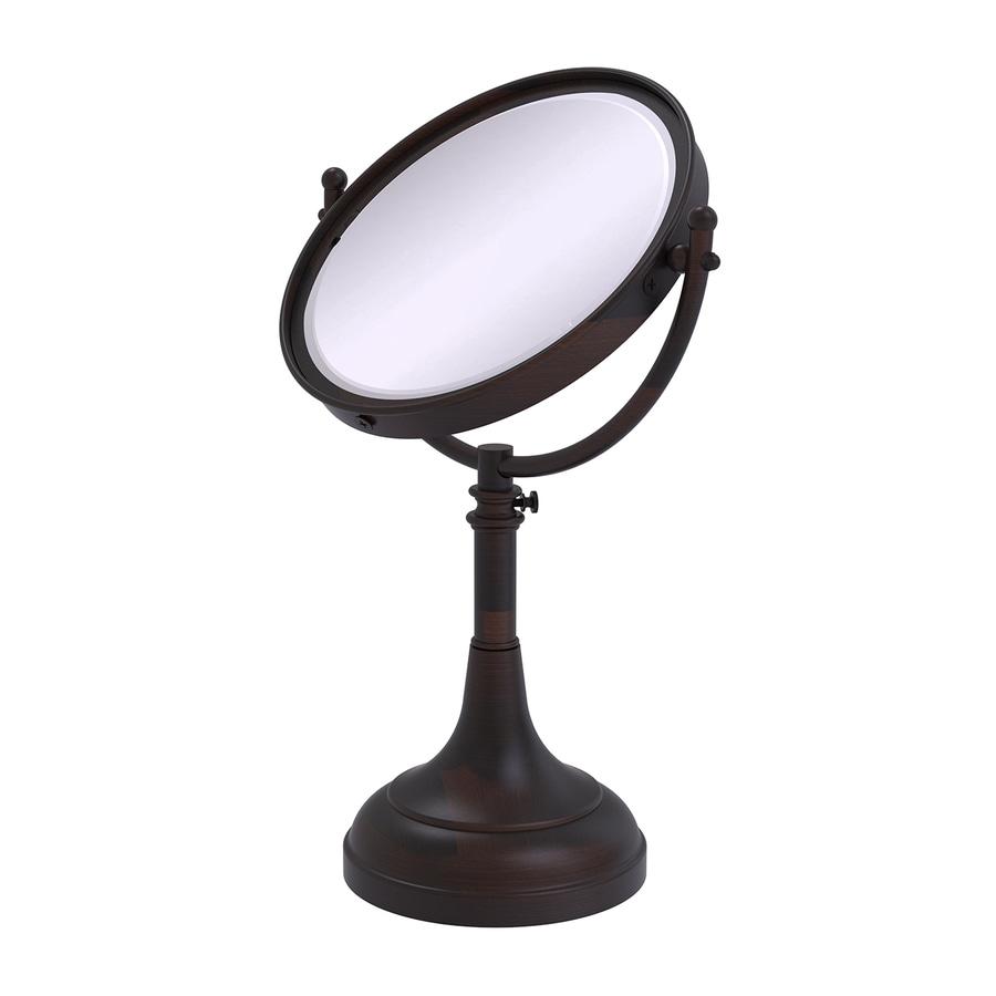 Allied Brass Bronze Brass Magnifying Countertop Vanity Mirror Cabinet Pull