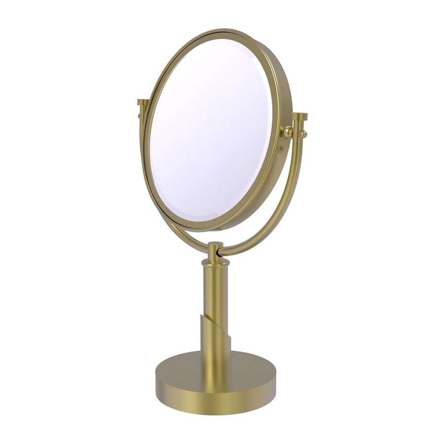 Allied Brass Tribeca Brass Magnifying Countertop Vanity Mirror