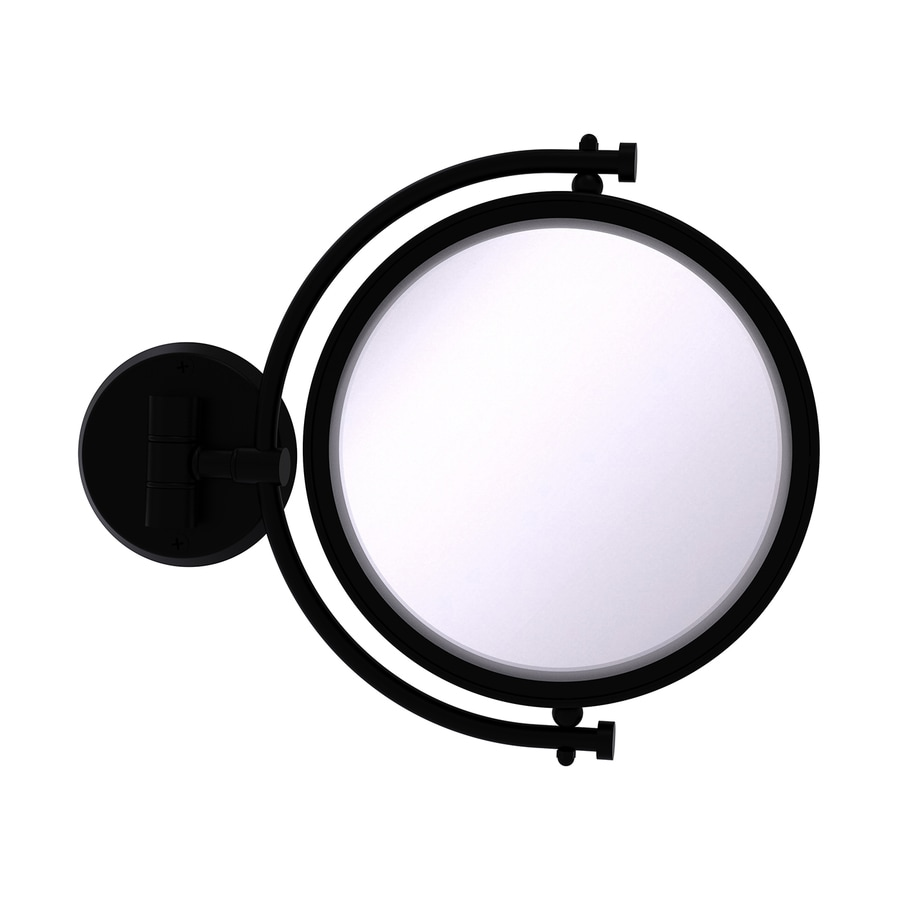 Shop Allied Brass Black Brass Magnifying Wall Mounted