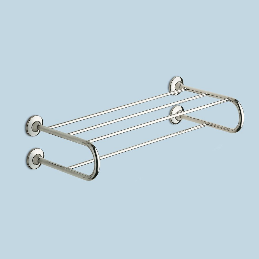 Nameeks Gedy Ascot Chrome Brass Bathroom Shelf