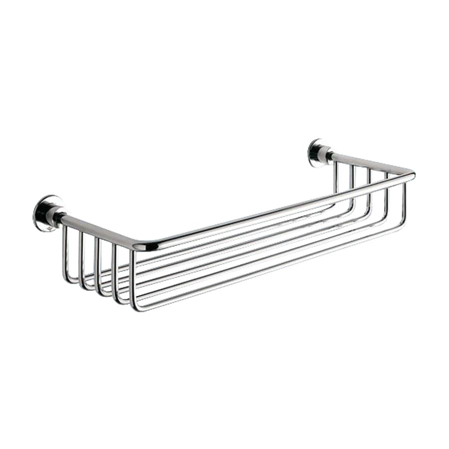 Nameeks Gedy Wire Chrome Brass Bathroom Shelf