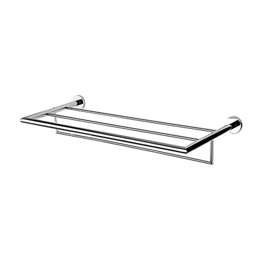 Nameeks Nemox Chrome Brass Bathroom Shelf