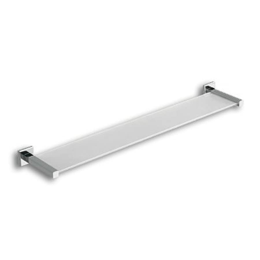 Nameeks Colorado Chrome Glass Bathroom Shelf