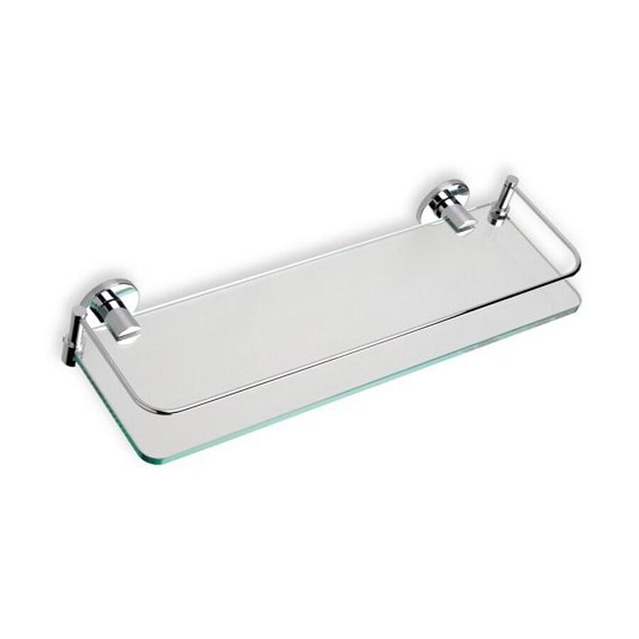 Nameeks Medea Chrome Glass Bathroom Shelf