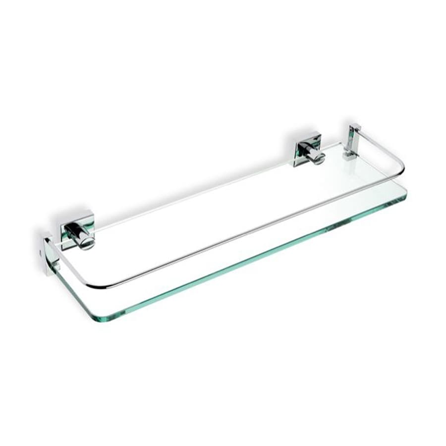 Nameeks Urania Chrome Glass Bathroom Shelf