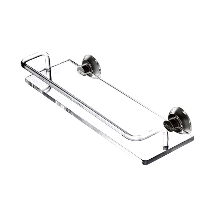Nameeks Luce Chrome Plastic Bathroom Shelf