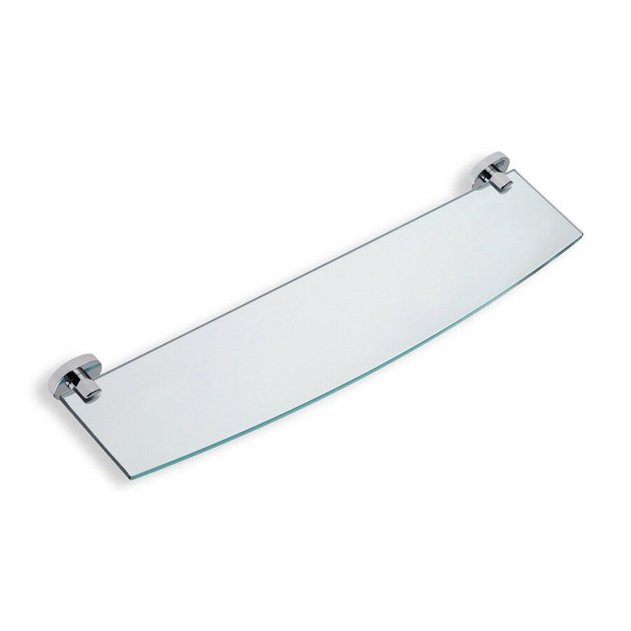 Nameeks Diana Chrome Glass Bathroom Shelf