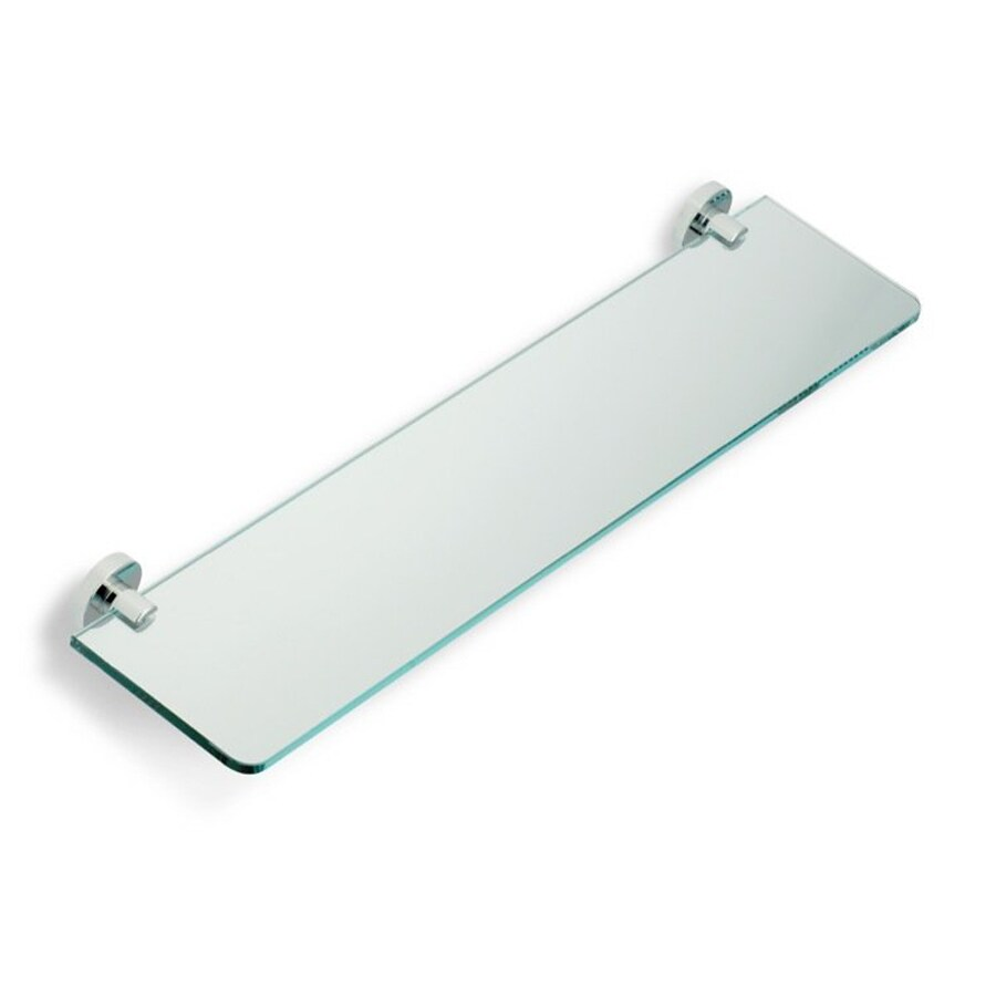 Nameeks Venus Chrome Glass Bathroom Shelf