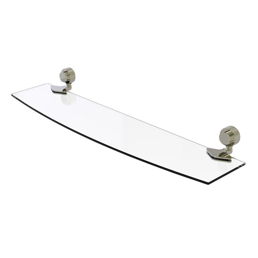 Allied Brass Venus Polished Nickel Brass Bathroom Shelf