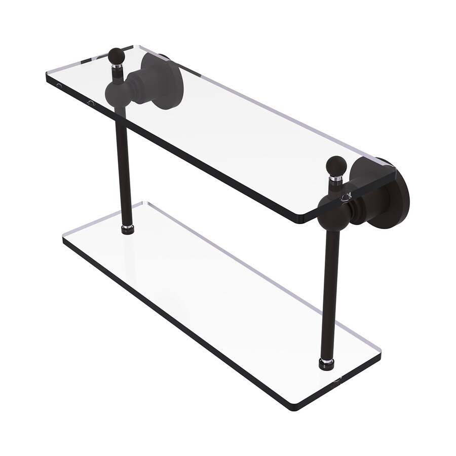 Allied Brass Astor Place 2-Tier Oil Rubbed Bronze Brass Bathroom Shelf