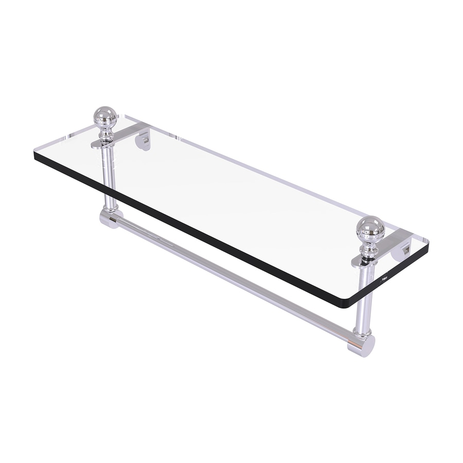 Allied Brass Prestige Regal Polished Chrome Brass Bathroom Shelf